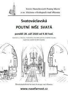 Svatováclavská poutní mše svatá