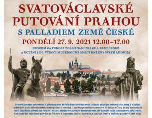 Svatováclavské putování Prahou s Palladiem Země české